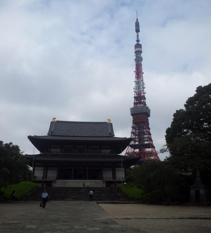 Zozoji (y la Torre de Tokio)