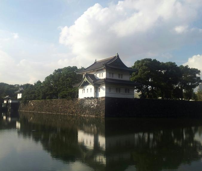 Lo único que aprecié del Palacio Imperial fueron sus murallas