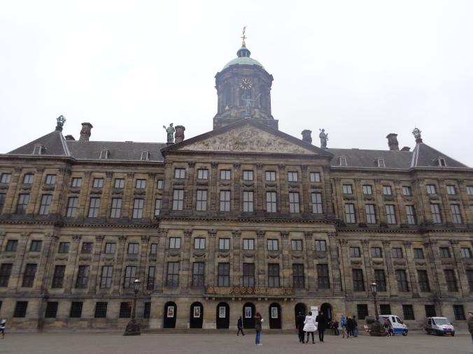 El Palacio Real visto desde fuera