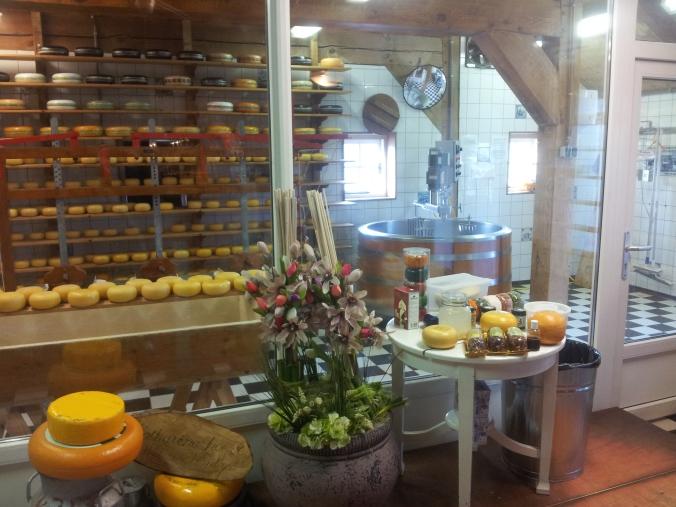 La máquina del queso
