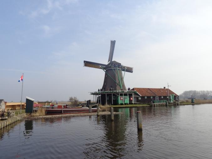 Vistas desde la parte trasera del Het Jonge Schaap